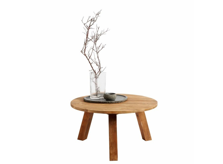 Coffee table Davy, gerecycled teakhout