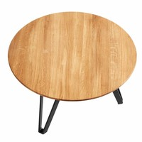 Coffee table Space Natural L, geolied eikenhout