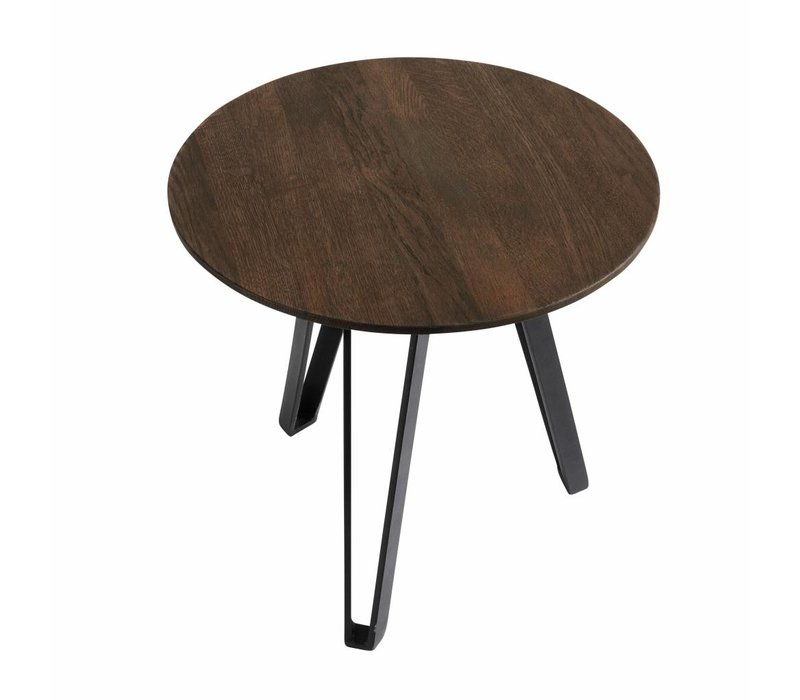 Coffee table Space Smoked S, geolied eikenhout