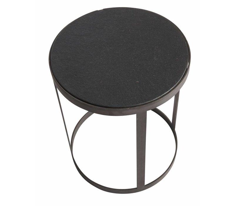 Coffee table High, stone
