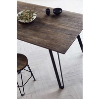 Dining table Space Smoked- oak