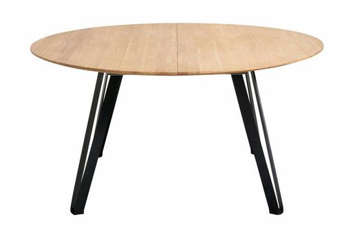 MUUBS Dinertafel Space Naturel rond