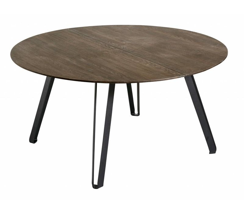 Dining table Space Smoked Rond 150- oak