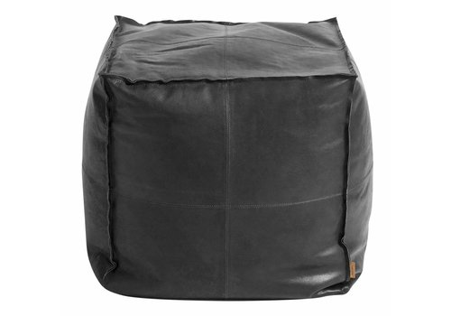 MUUBS Leather pouf Camou