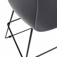 Bar Stool Kumiku,  with backrest