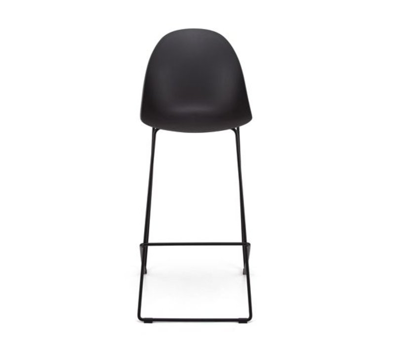 Bar Stool Cocoon, with backrest