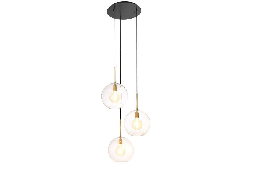 Chandelier Tango 3 lights met een diameter van 60cm