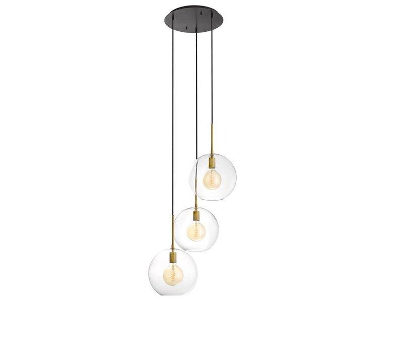 Chandelier Tango 3 lights mit 60cm Durchmesser