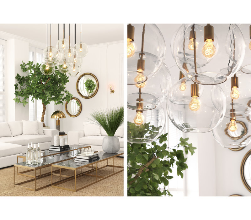 Chandelier Tango with 5 lamps