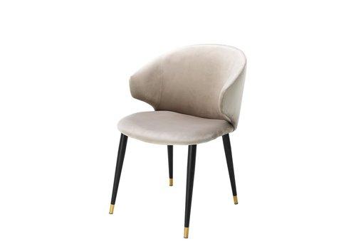 EICHHOLTZ Dining chair Volante - Roche beige