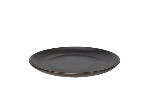 Dome Deco Dinner plate  'Metallic' - Sat aus 2