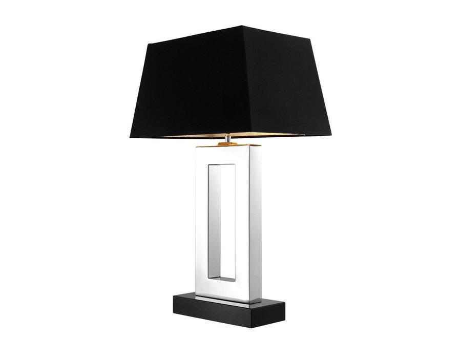 Tafellamp Arlington met zwarte kap