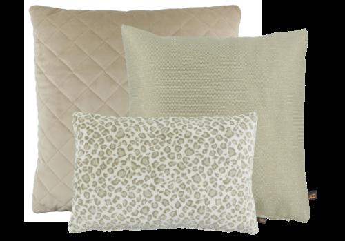 CLAUDI Chique Cushion combination Sand: Agostina, Leopoldo, Diamo