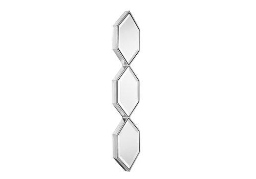EICHHOLTZ Moderner Spiegel 'Saronno' - silver