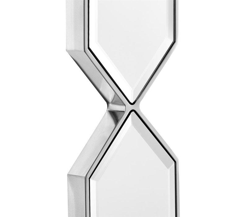 Modern mirror 'Saronno' - silver