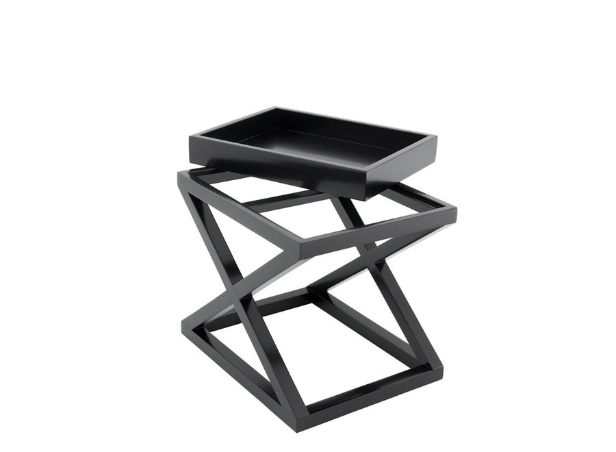 Bijzettafel zwart 'Mcarthur' 61 x 48 x 57cm (h)