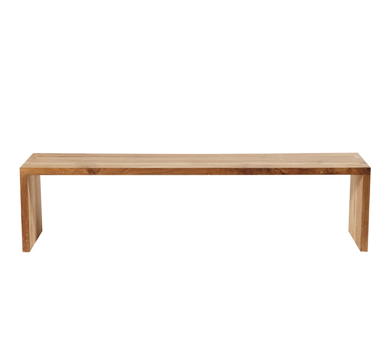 Bench One 180, with a natural color