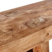 Bench Drift,  recycled teak
