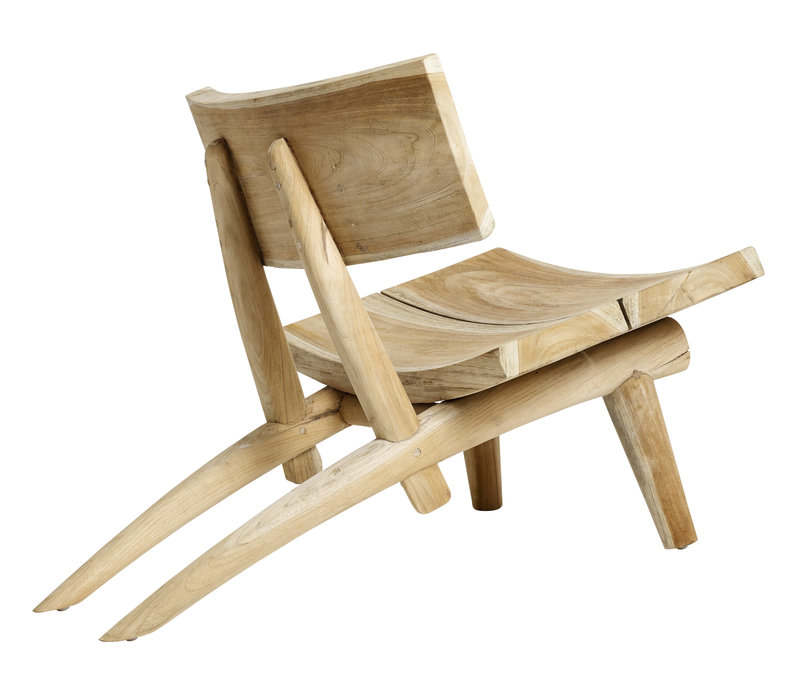 Chair Dakota, romantische stoel om in weg te kruipen