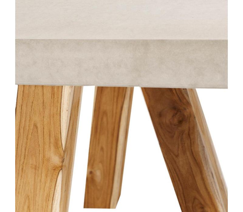 Dining table Rockefeller S 200, handgegoten