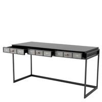 Desk Paco, Mahogany wood