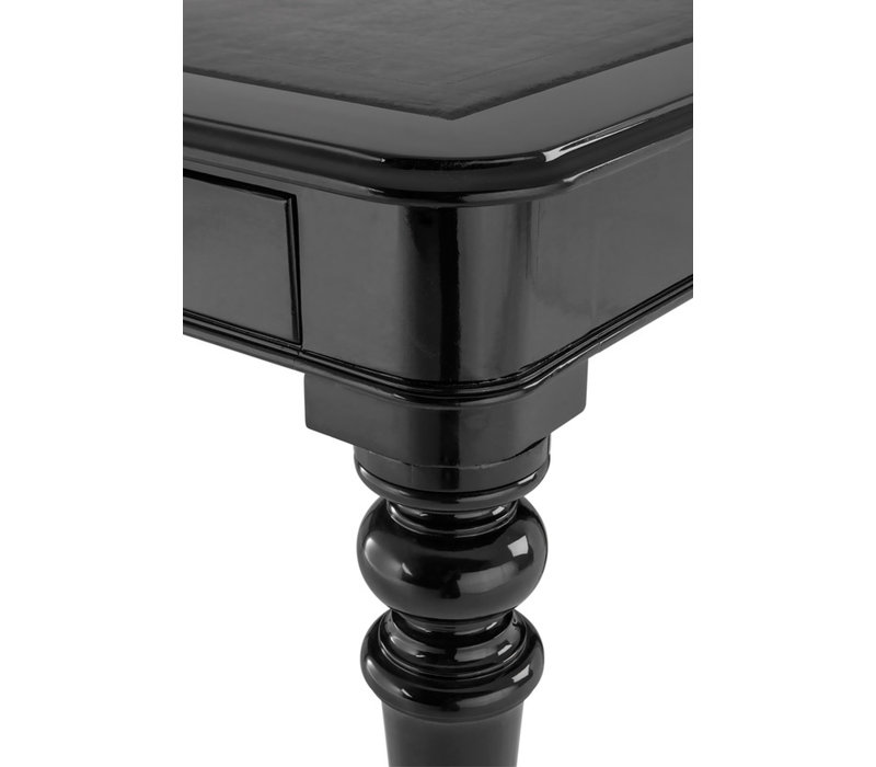 Desk Buckingham,  Piano black finish