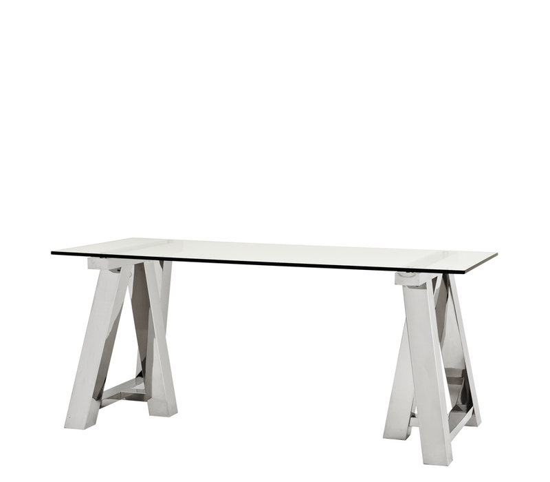 Desk Marathon, Polished stainless steel
