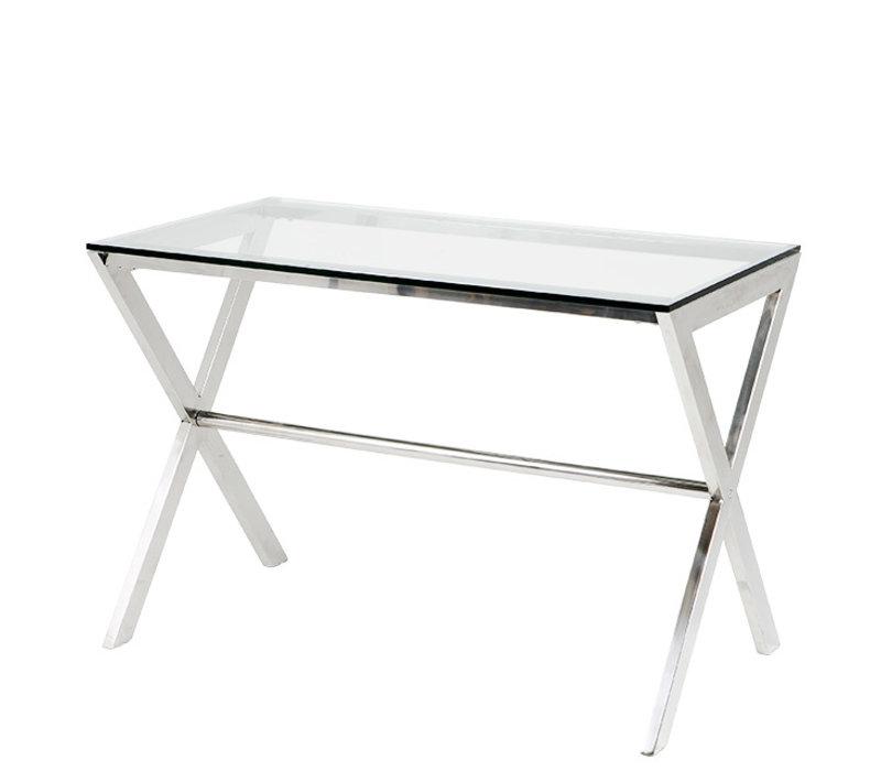 Desk Criss Cross, glass