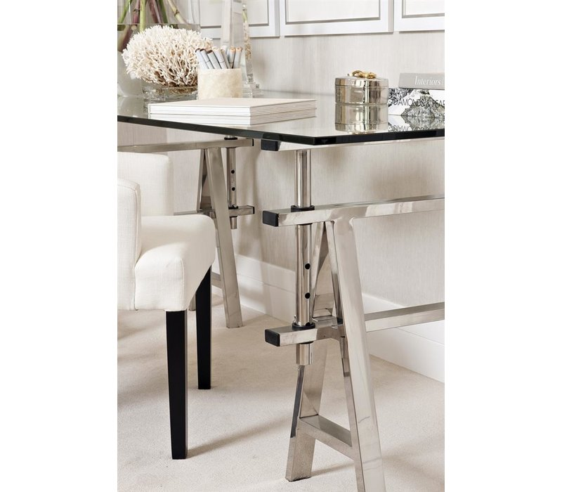 Desk Shaker, Polished stainless steel