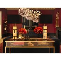Candle Holder 'Perignon'  Brass
