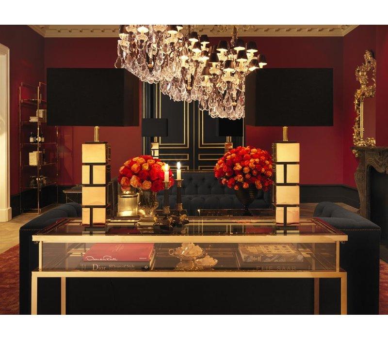 'Perignon' Bronze candlestick