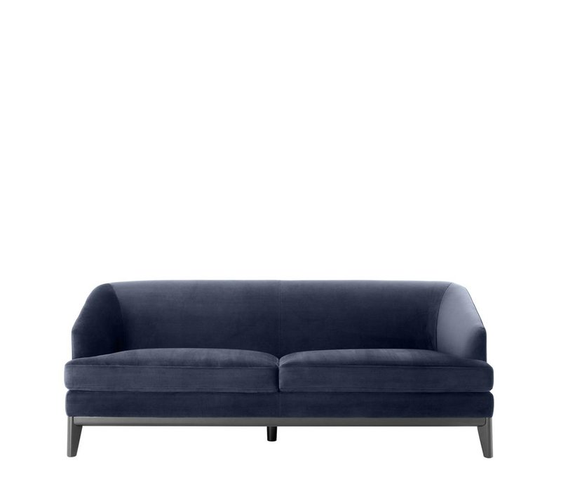 Sofa Monterey, Savona midnight blue velvet