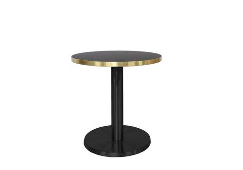 Dome Deco Round End table 'Marais' Gold - S