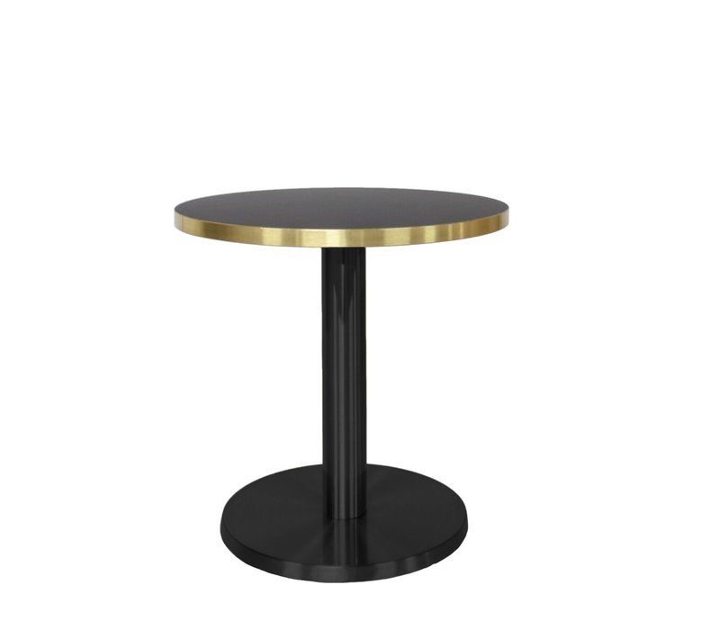 Round End table 'Marais' Gold - S