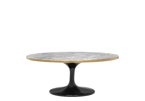 EICHHOLTZ The 'Parme Oval' coffee table - grey