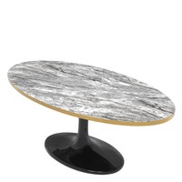 Couchtisch 'Parme Oval' 120 x 60 x H. 50,5 cm