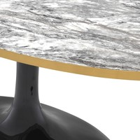 Salontafel 'Parme Oval'  120 x 60 x H. 50,5 cm