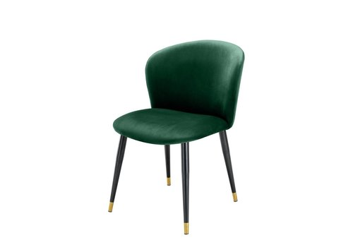 EICHHOLTZ Dining chair Volante - Roche dark green