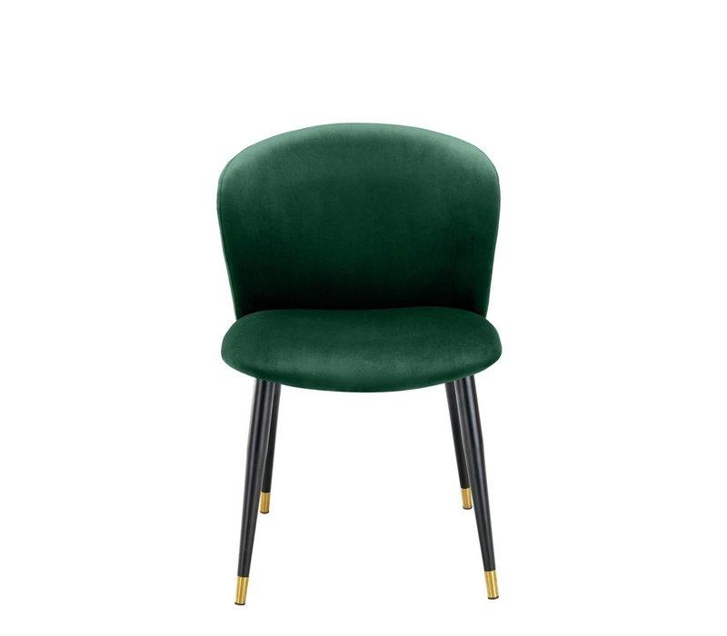 Dining chair 'Volante' - Roche dark green
