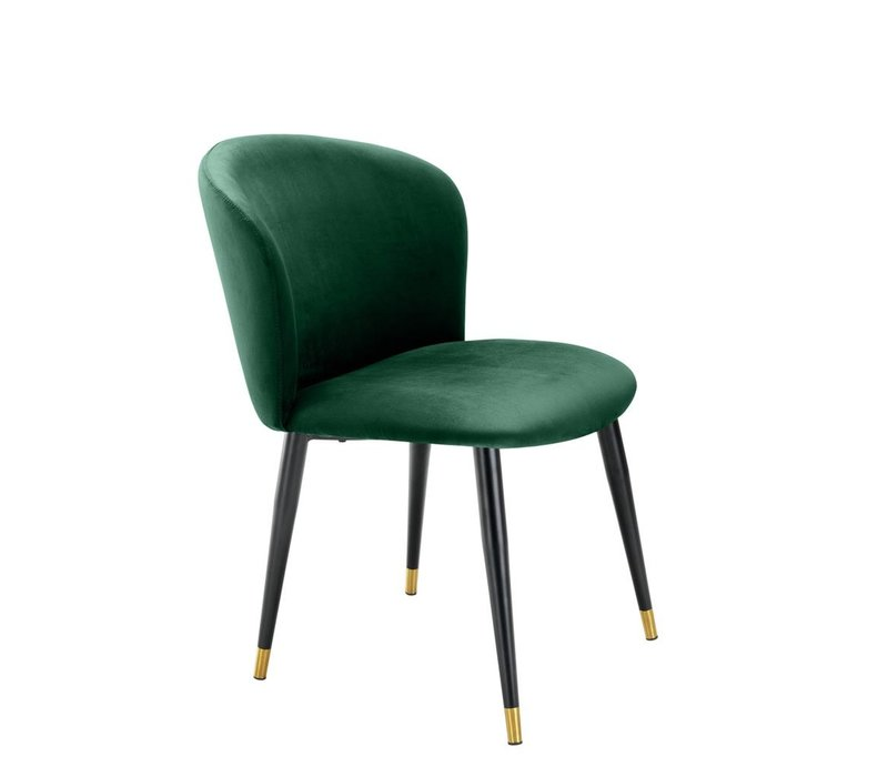 Esszimmerstuhl 'Volante' - Roche dark green