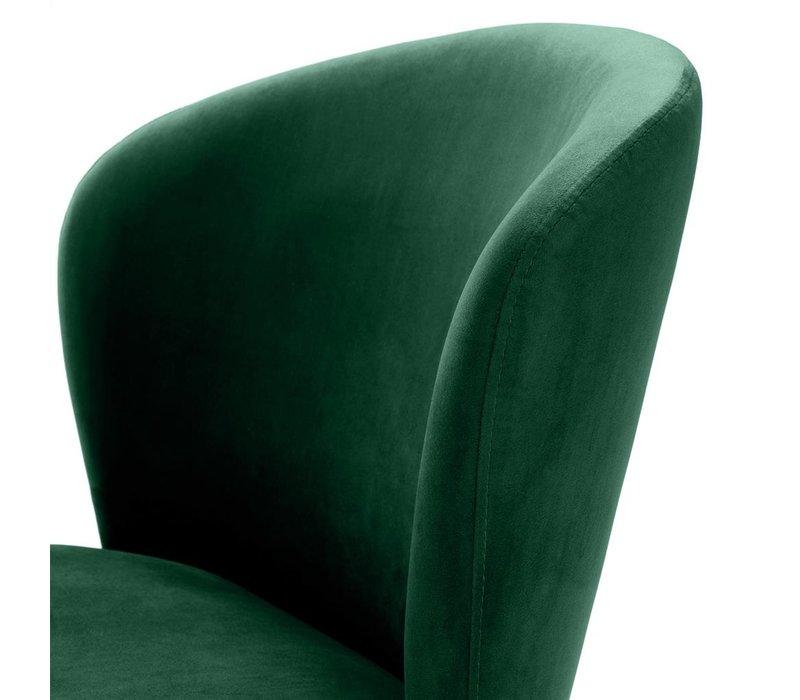 Eetkamerstoel 'Volante' Dark Green