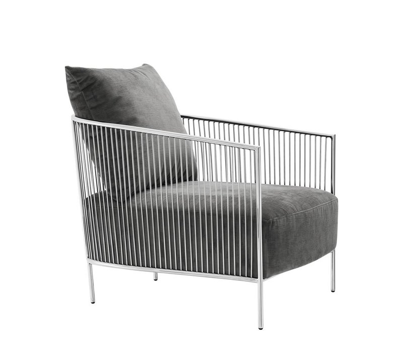 Chair 'Knox' Stainless steel