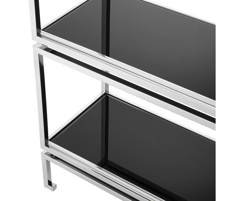 Cabinet Calvin, Stainless steel