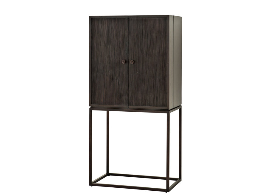 Cabinet DeLaRenta, Mahonie hout