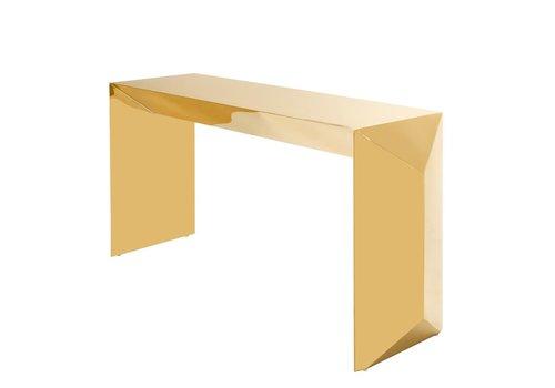 EICHHOLTZ Design console tafel 'Carlow' Gold