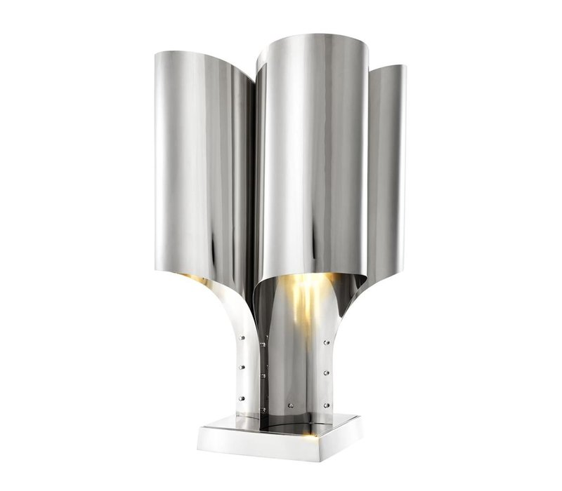 Design Tafellamp 'Spiaggia' met futuristisch ontwerp, 82,5cm hoog