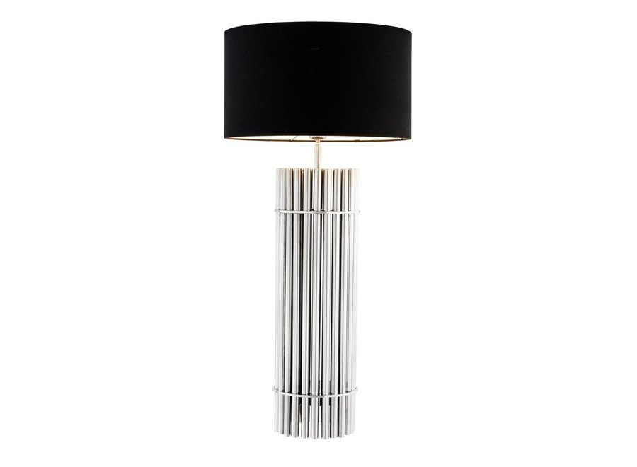 Design Tafellamp Reef met zwarte kap