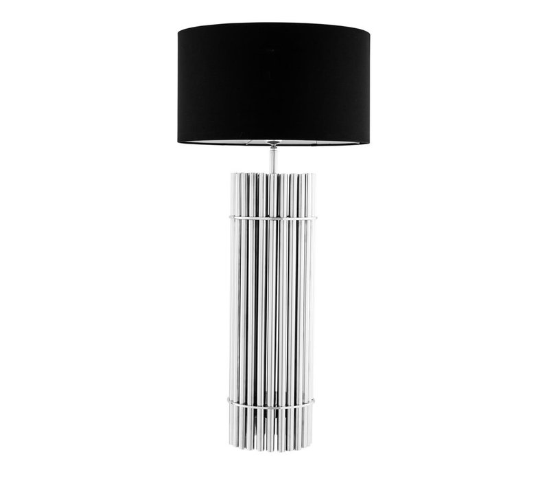 Design table lamp 'Reef' with black shade