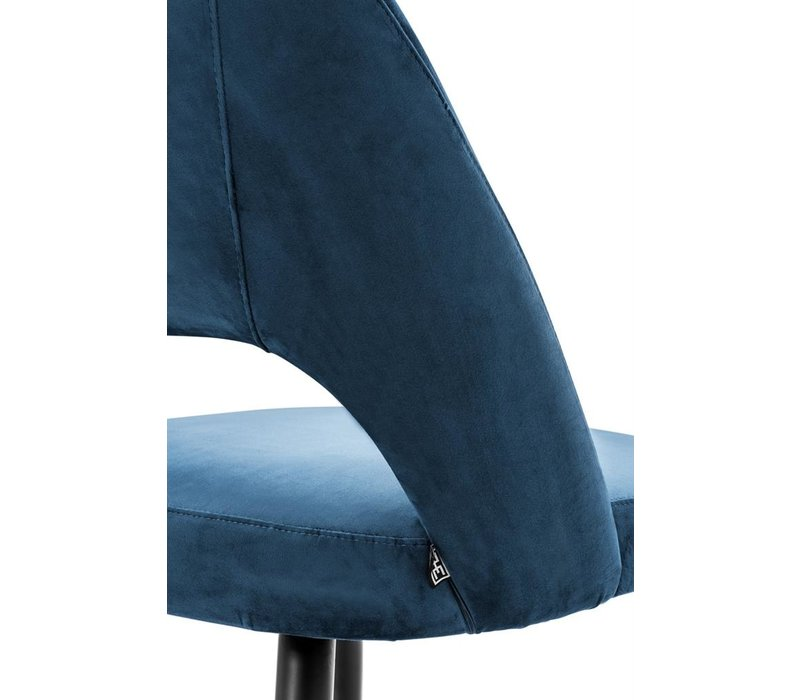 Dining Chair Cipria, Roche blue velvet