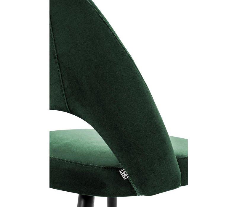 Eetstoel Cipria, Roche groen fluweel